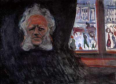 Henrik Ibsen at the Grand Café by Edvard Munch
