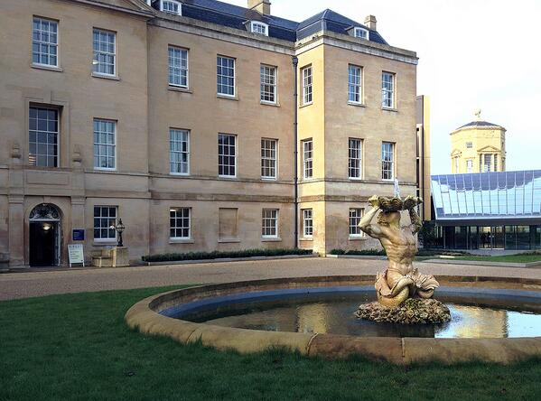 The Radcliffe Humanities Building in Oxford, home to TORCH
